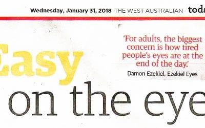 Ezekiel Eyes in The West Health Magazine 2018