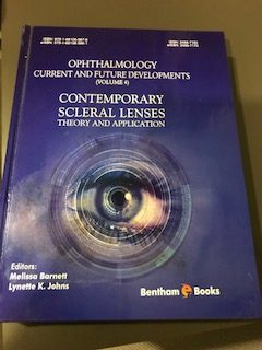 "New Publication, ""Contemporary Scleral Lenses"""