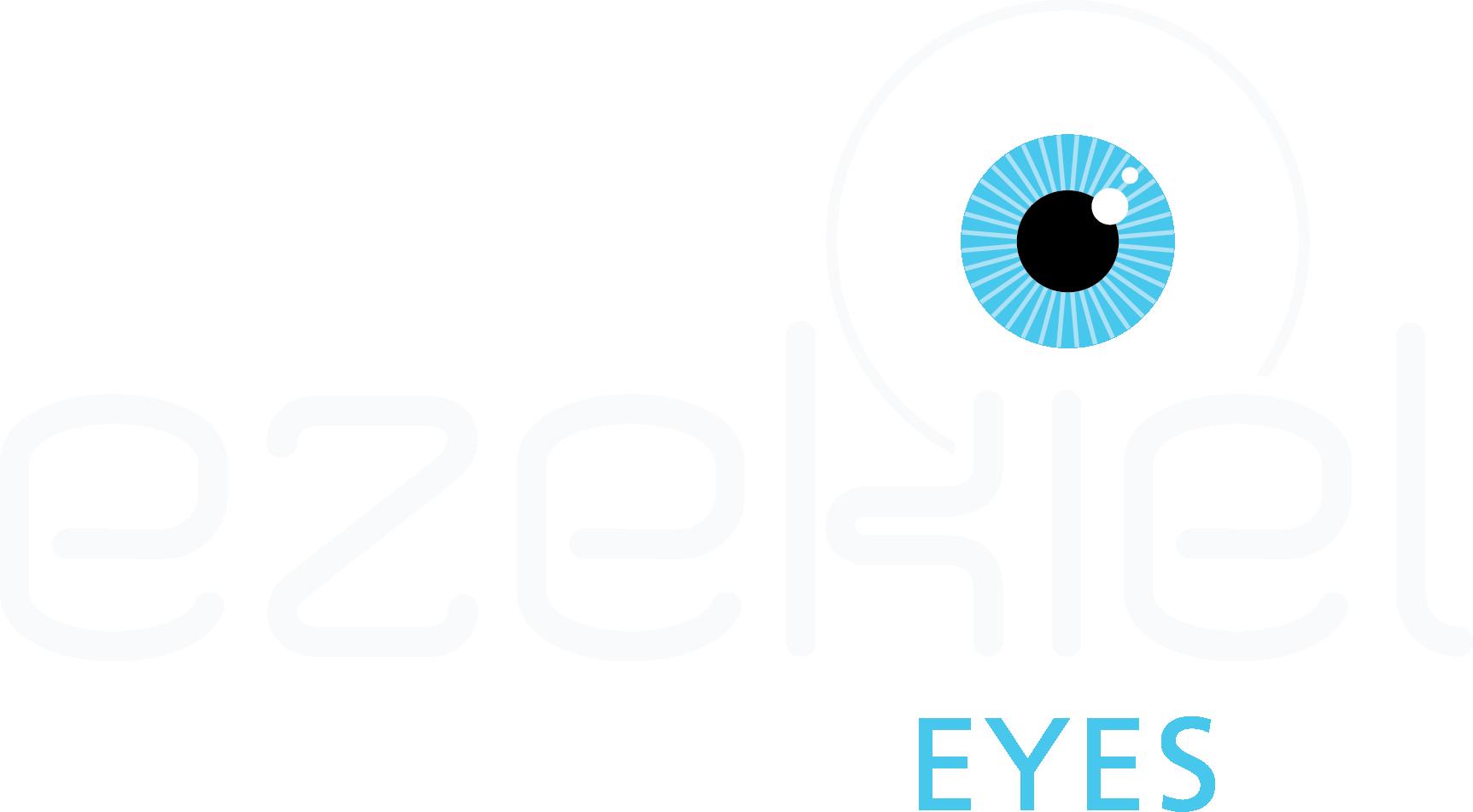 ezekiel eyes logo reversed